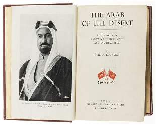 Middle East.- Dickson (H. R. P.) The Arab of the