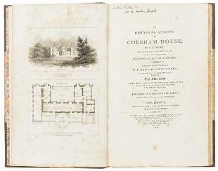 Wiltshire.- Catalogue of pictures.- Britton (John) An