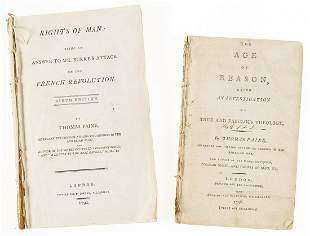 Paine (Thomas) Rights of Man: Being an Answer to Mr.