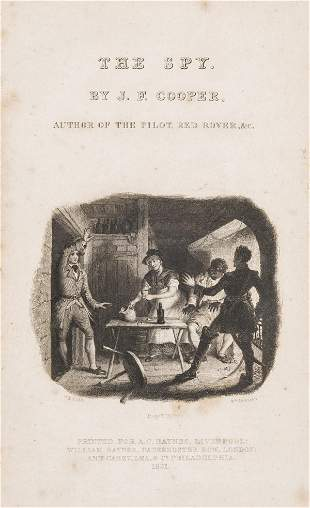 Cooper (James Fenimore) The Spy, Liverpool and London,