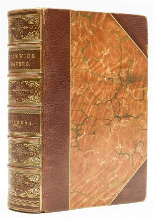 Dickens (Charles) The Posthumous Papers of the Pickwick
