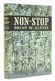 Aldiss (Brian W.) Non-Stop, first edition, 2 cut