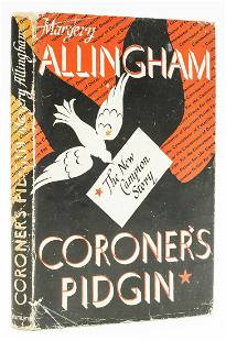 Allingham (Margery) Coroner's Pidgin, first edition,