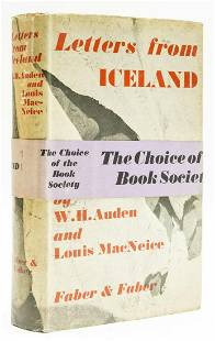 Auden (W.H.) and Louis MacNeice. Letters from Iceland,