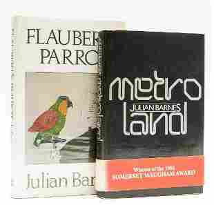 Barnes (Julian) Metroland, first edition, signed by the