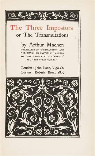 Beardsley (Aubrey).- Machen (Arthur) The Three