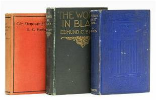 Bentley (E. C.) Trent's Last Case, first edition,
