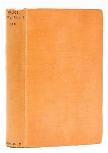 Berkeley (Anthony) Malice Aforethought, first edition,