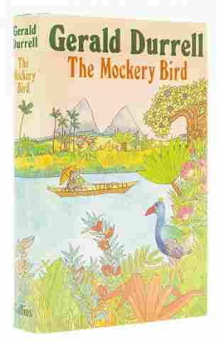 Durrell (Gerald) The Mockery Bird, first edition,