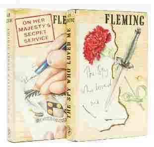 Fleming (Ian) The Spy Who Loved Me, first edition, 1962;