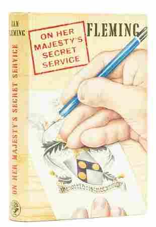 Fleming (Ian) On Her Majesty's Secret Service, first