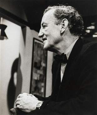 Fleming (Ian).- Gerson (Mark) Portrait photograph of