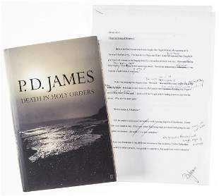 James (P.D.) Death in Holy Orders, first edition,