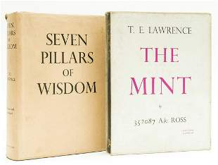 Lawrence (T.E.) Seven Pillars of Wisdom, first trade