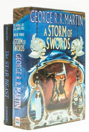 Martin (George R. R. ) A Storm of Swords, first