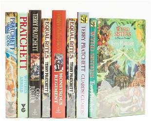 Pratchett (Terry) Equal Rites, first edition, signed by