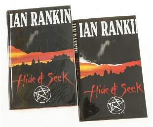 Rankin (Ian) Hide & Seek, first edition, signed by the