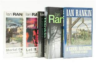 Rankin (Ian) A Good Hanging, first edition, signed by