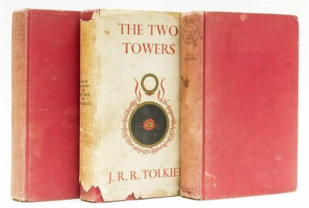 Tolkien (J.R.R.) [The Lord of the Rings], 3 vol., first