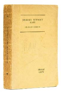 Greene (Graham) Journey Without Maps, uncorrected proof