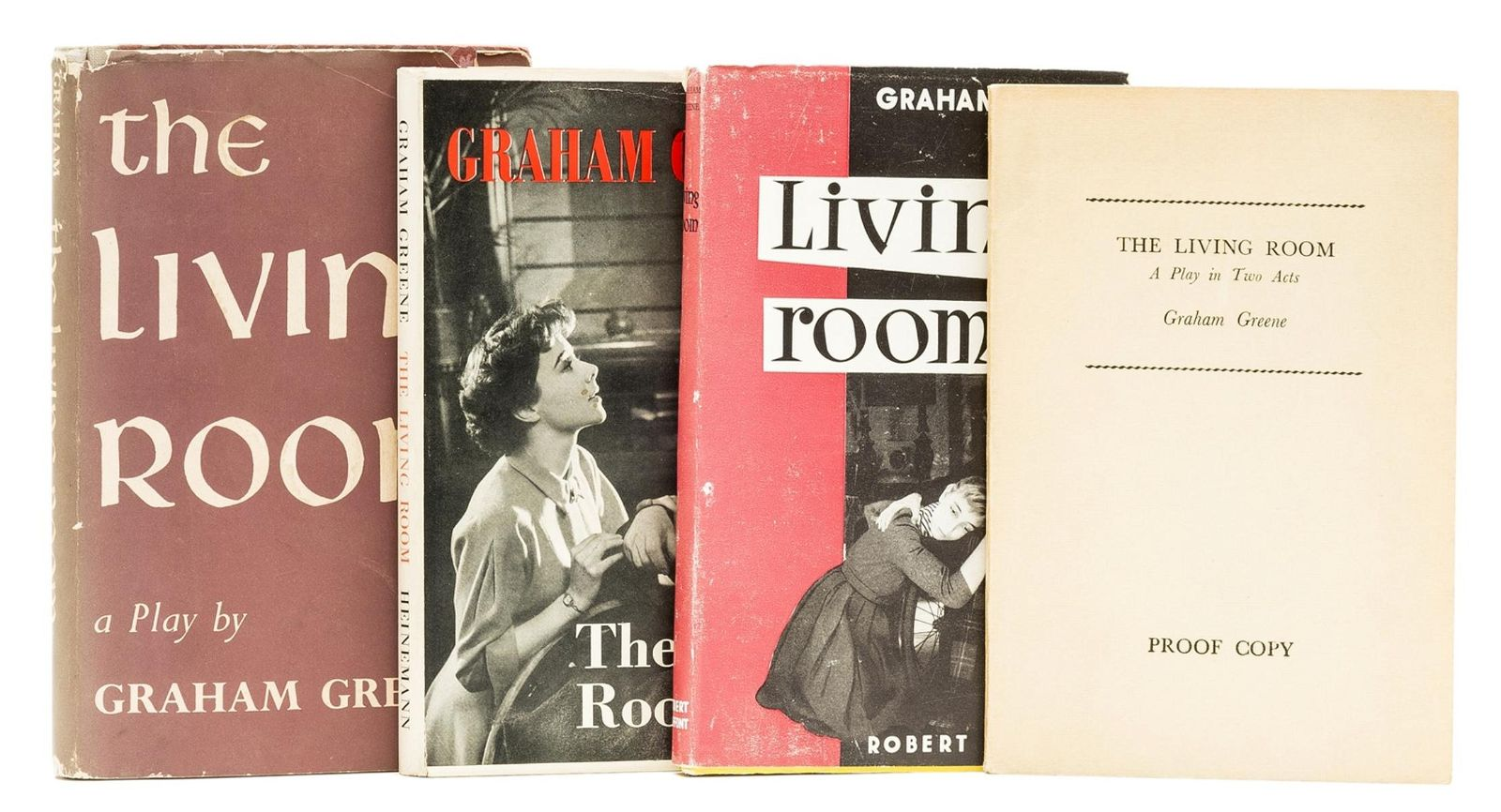 Greene (Graham) The Living Room: a Play in Two Acts,