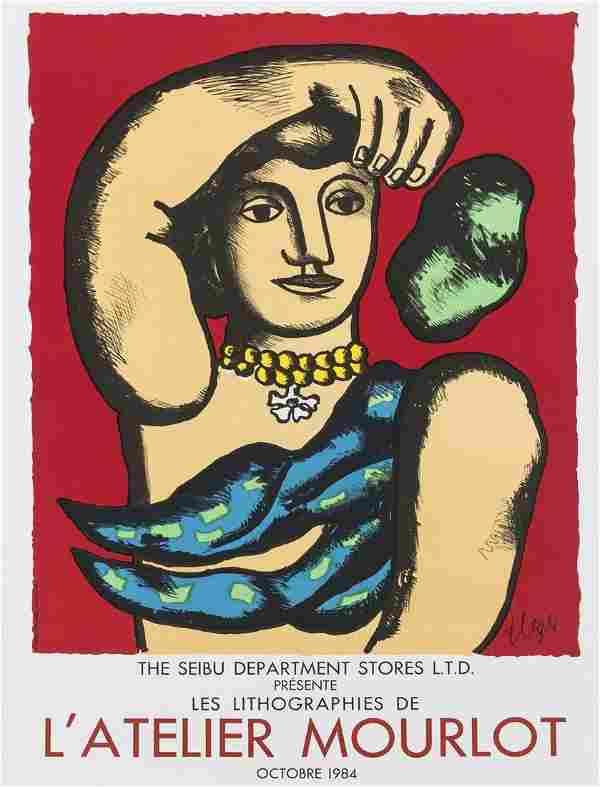 δ Fernand Leger (1881-1955) (after) Poster for