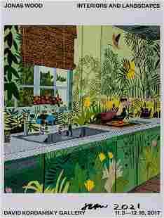 Jonas Wood (b.1977) Jungle Kitchen