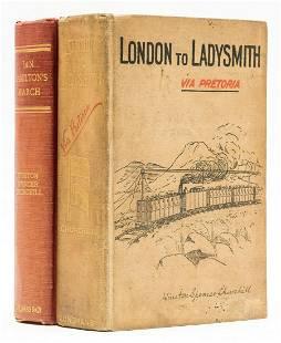 Africa.- Churchill (Winston S.) London to Ladysmith via