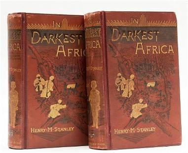 Africa.- Stanley (Henry Morton) In Darkest Africa, 2