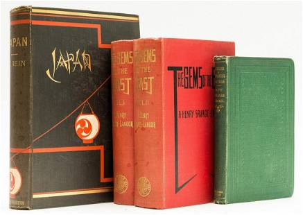 Asia.- Rein (J. J.) Japan: Travels and Researches, 1888;