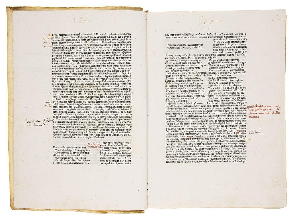 Petrarca (Francesco) Trionfi, 1478.