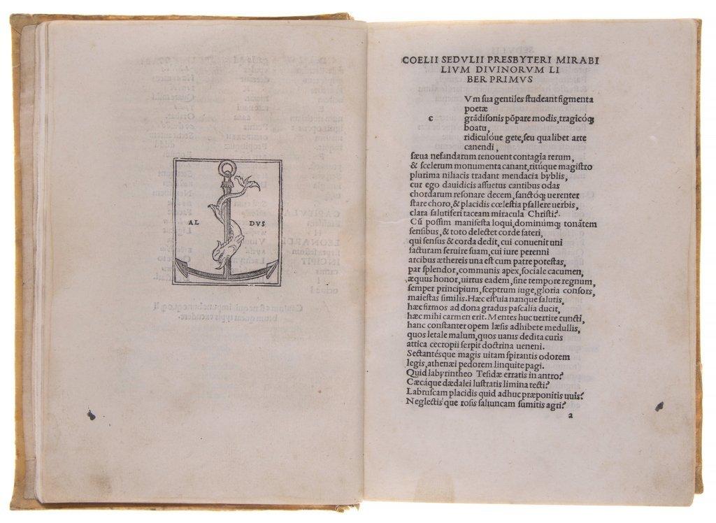 Poetae Christiani Veteres. 1501.