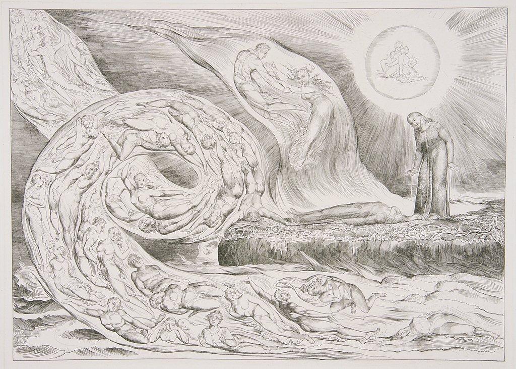 Blake (William) Illustrations to Dante's Divine Comedy