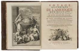 South America.- Ulloa (Antonio de) Voyage Historique de