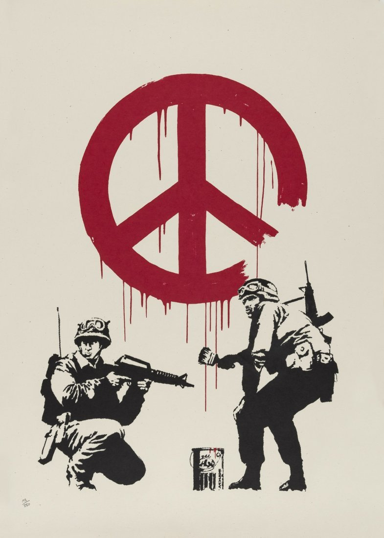 Banksy (b.1974) CND Soldiers