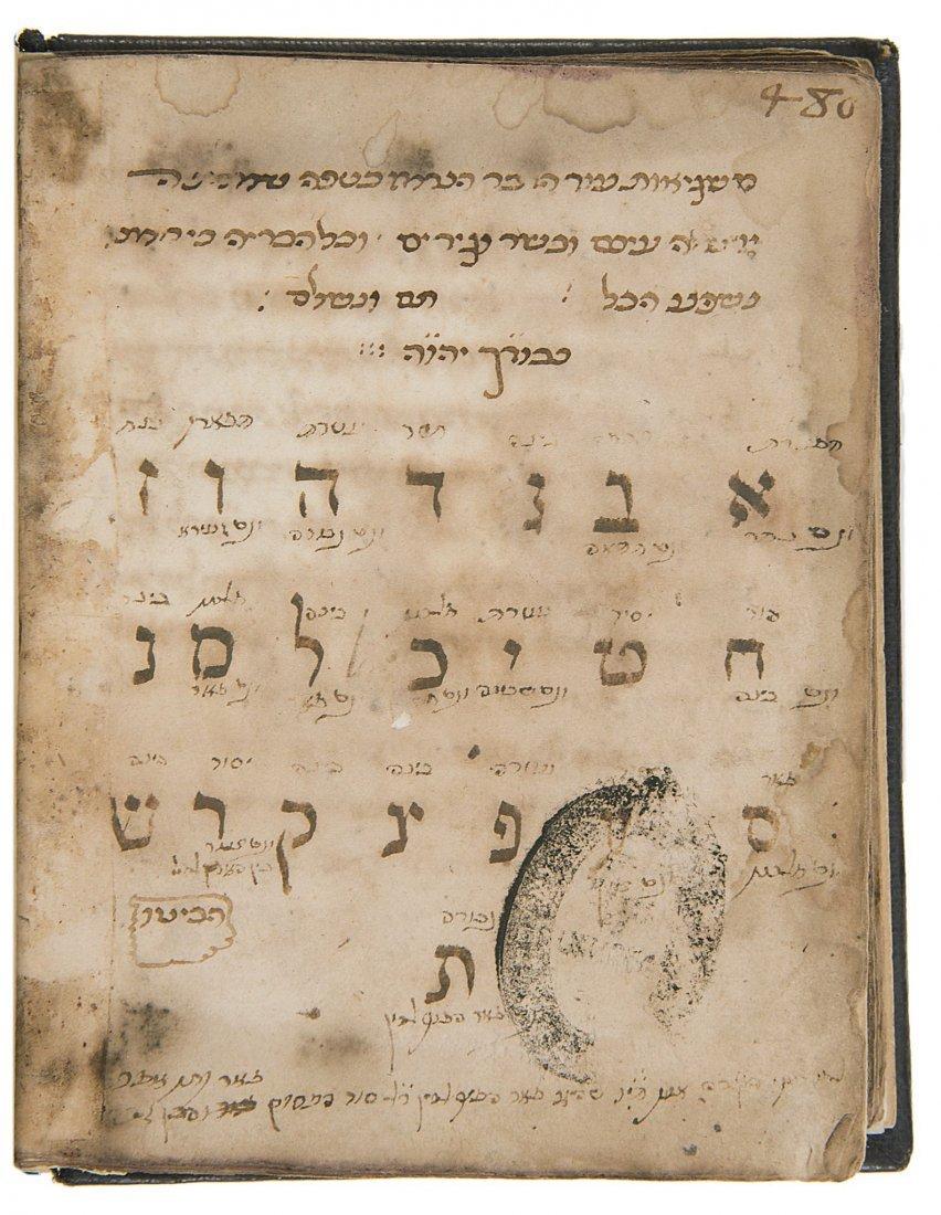 Kabbala.- Gikatilla (Yosef Ben Abraham) Two Kabbalistic