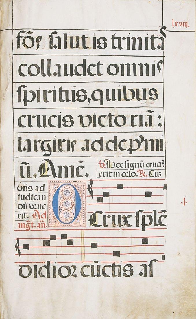 Antiphoner.- manuscript on vellum, 110ff., in original - 2