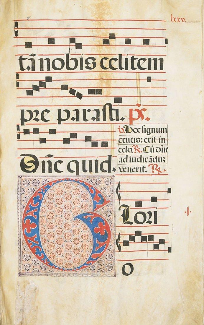Antiphoner.- manuscript on vellum, 110ff., in original - 3