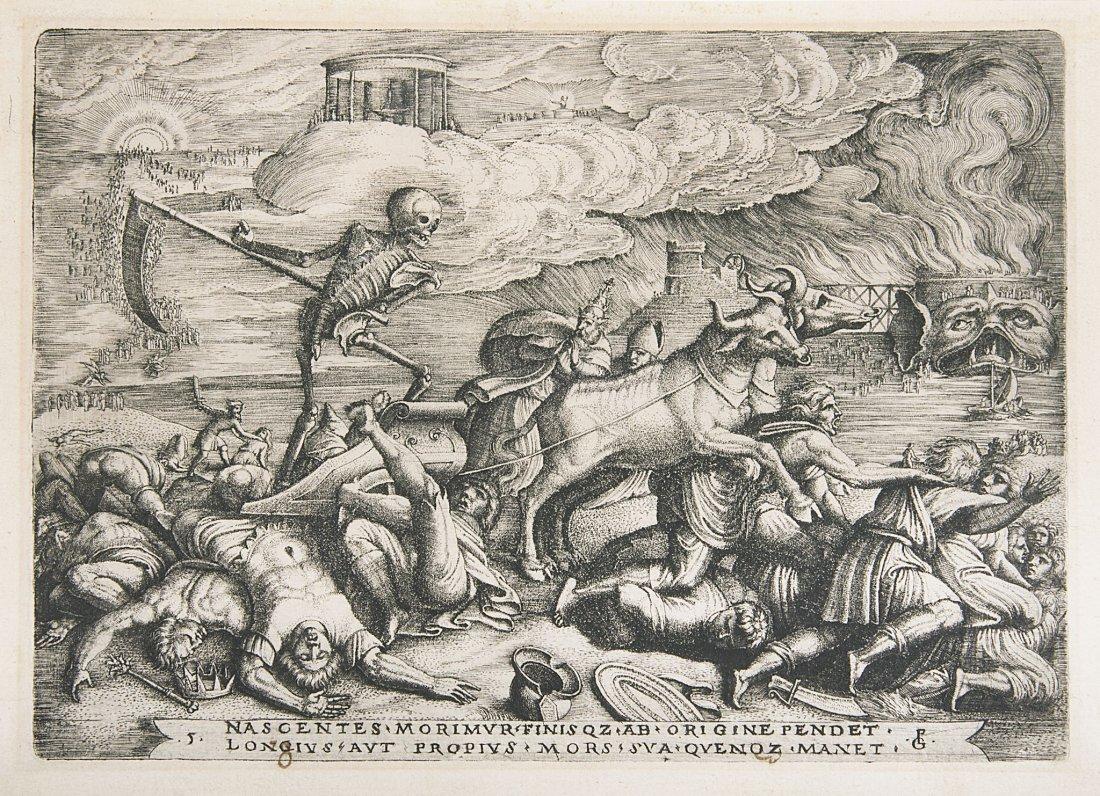 Pencz (Georg) The Triumph of Death, 1539.