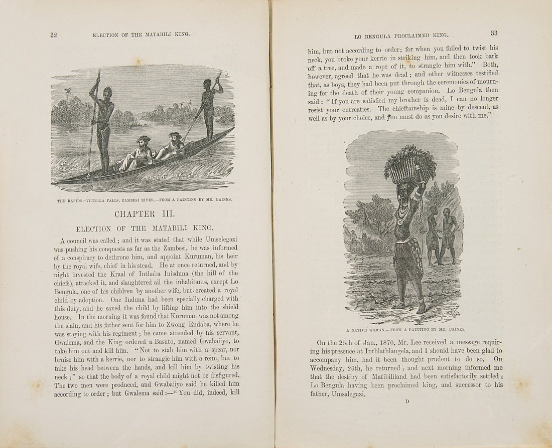 Africa.- Baines (Thomas) The Gold Regions of South