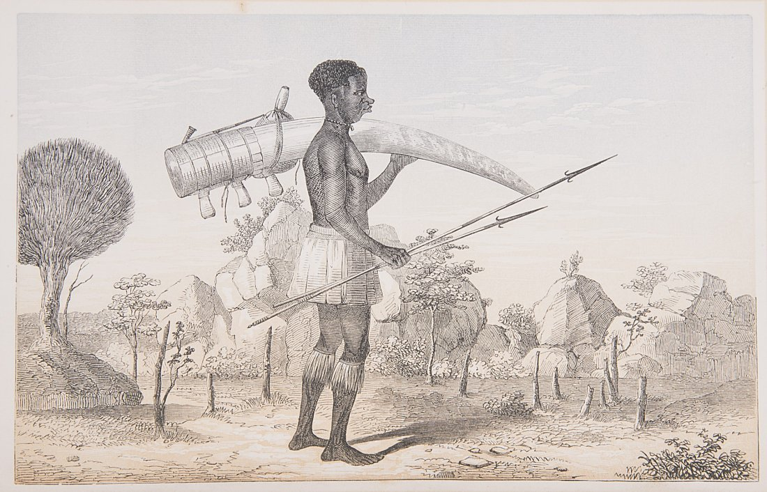 Africa.- Burton (Sir Richard Francis) The Lake Regions
