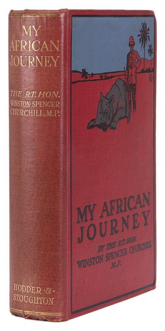 Africa.- Churchill (Winston Spencer) My African