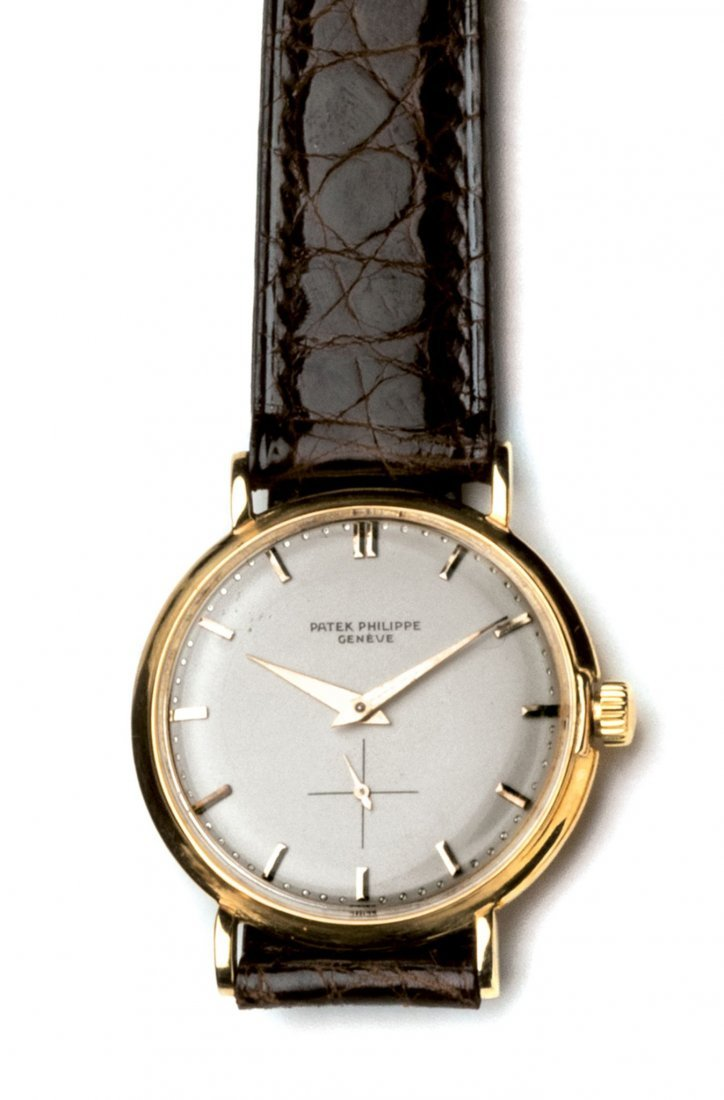 Patek Philippe. An 18ct yellow gold wristwatch,