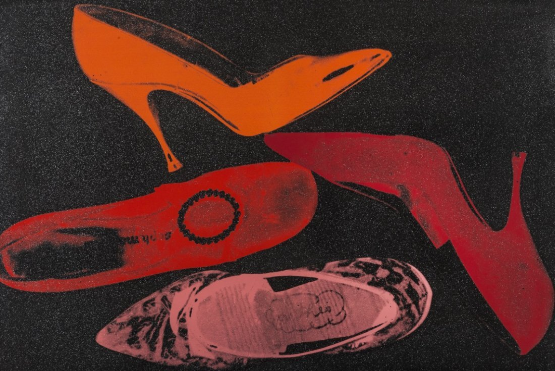 Andy Warhol (1928-1987) Shoes (F.&S.II.253)