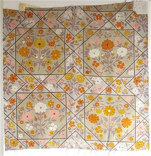 Jack Lenor Larsen Design Thai Silk Fabric Samples, 1972