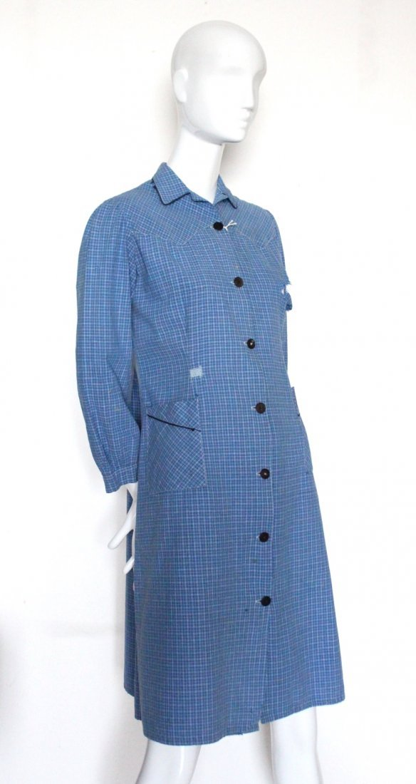 1930's French Ladies Cotton Work Shirts