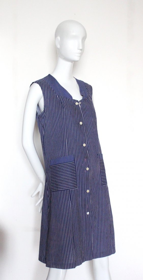 1930's French Ladies Cotton Work Shirts - 2