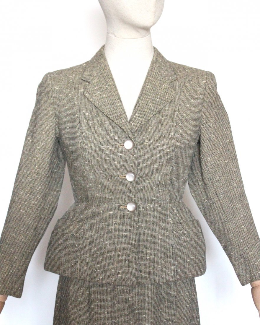 Rare New Look Suit Made in Tel Aviv, ca. early 1950's