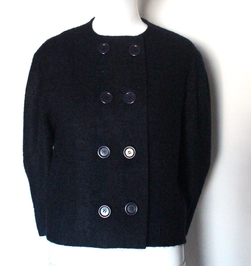 Early Pierre Cardin Couture Wool Jacket, early 1960's - 2
