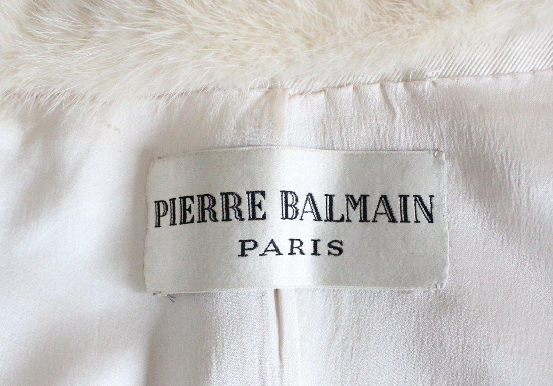 Pierre Balmain Haute Couture Beaded Silk Suit, - 6